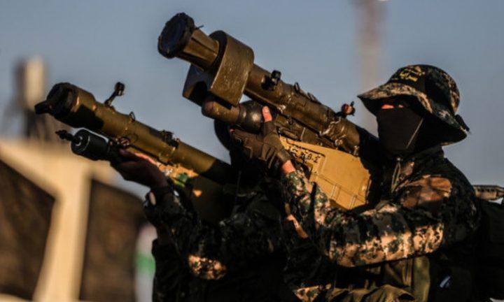سرايا القدس تعلن استهداف آليتين عسكريتين بواسطة طائرة مسيرة