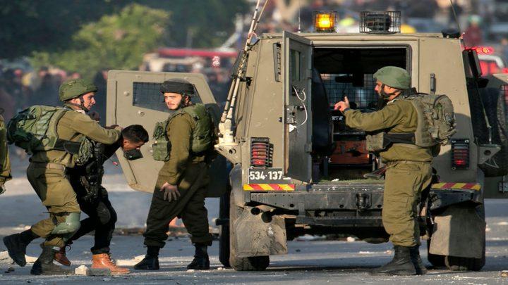 اعتقالات في نابلس وطوباس والخليل وقلقيلية
