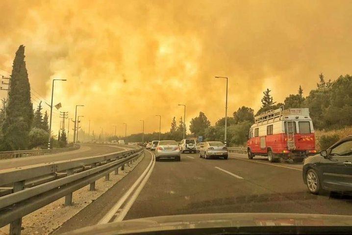 (1000) حريق بسبب موجة الحر في الضفة الغربية خلال أسبوع