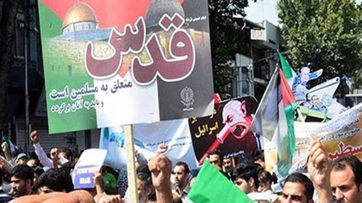 انطلاق مسيرات يوم القدس العالمي في ايران