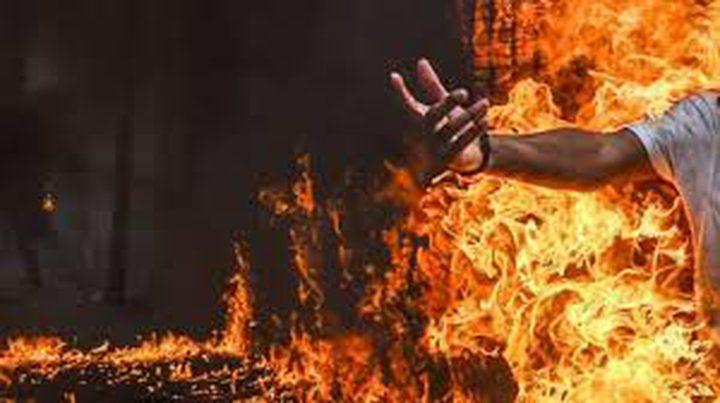 """على طريقة """"بوعزيزي""""..شاهد محاولة انتحار أمام البيت الأبيض"""