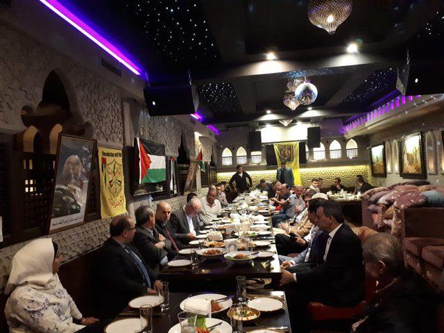 """إقليم """" فتح """" روسيا الإتحادية يقيم مأدبة إفطار رمضاني"""