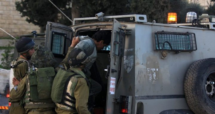 اعتقال شاب واصاباة 5 بمواجهات مع الاحتلال شرق قلقيلية