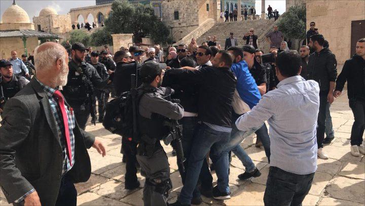 الاحتلال يشن حملة اعتقالات واسعة في مدينة القدس