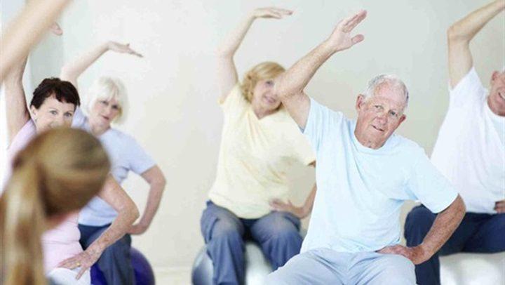 """""""اليوجا"""" تعمل على تحسين الصحة في فترة الشيخوخة"""