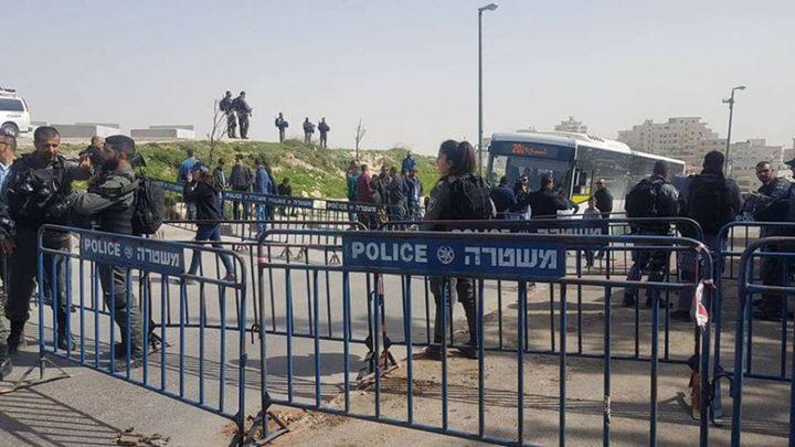 الاحتلال يغلق مداخل البلدة القديمة من القدس وعدة شوارع في محيطها