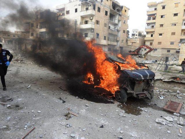 10 قتلى و20 جريحاً بانفجار سيارة مفخخة في الرقة