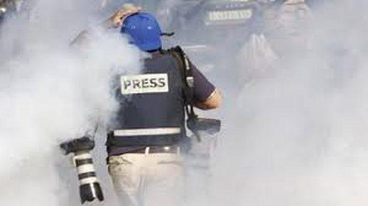 الاحتلال يرتكب 56 انتهاكاً بحق الصحفيين الشهر الماضي