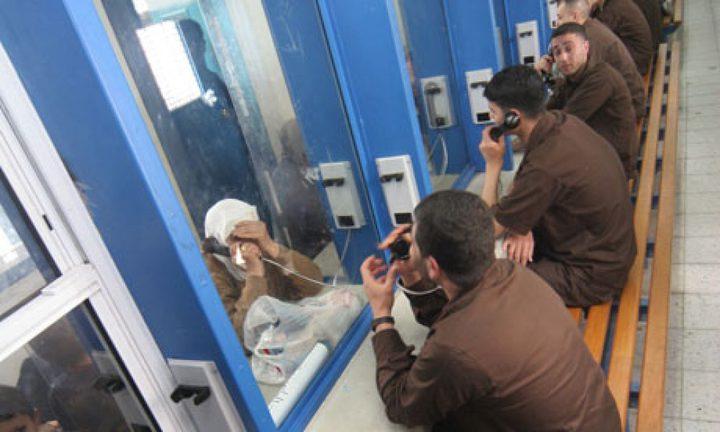 دفعة جديدة من اهالي أسرى قطاع غزة يزورون أبناءهم في سجن نفحة