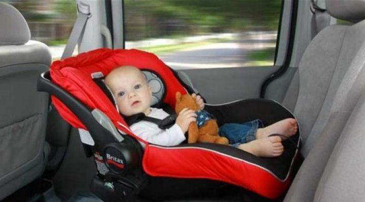 دراسة:استخدام مقاعد سيارات الأطفال في المنزل يعرض حياتهم للخطر