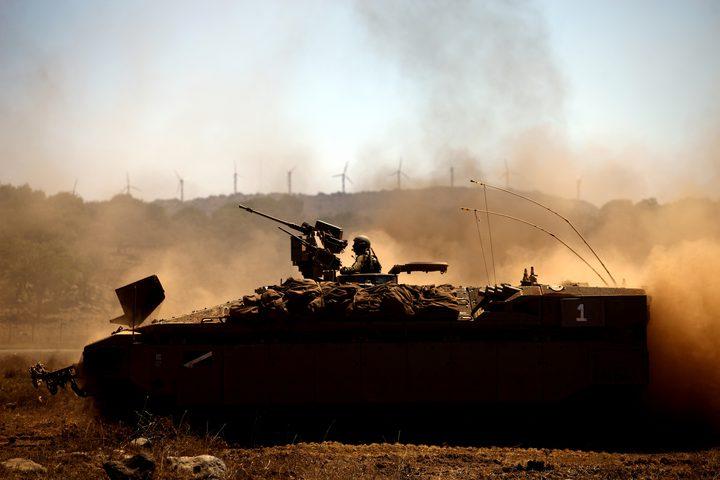 توغل محدود لقوات الاحتلال شرق محافظة رفح جنوب قطاع غزة