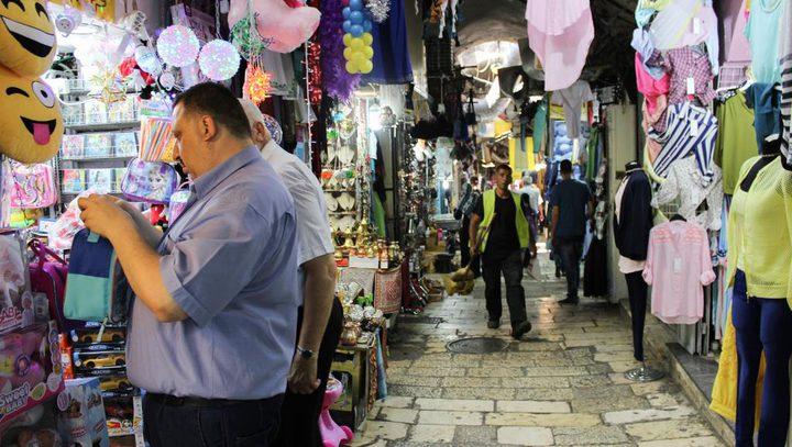 الهدمي يشيد بصمود التجار المقدسيين أمام إجراءات الاحتلال العنصرية