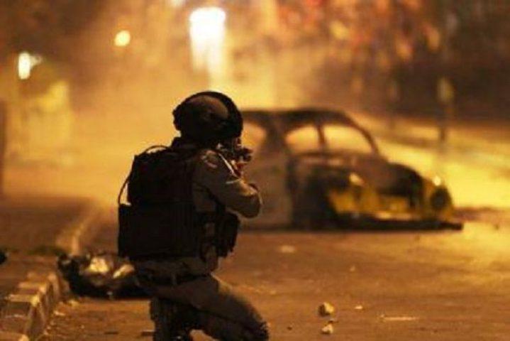إصابة شاب بجروح طفيفة خلال مواجهات مع الاحتلال في مخيم العروب