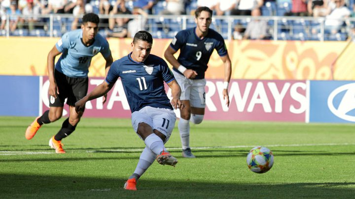 تأهل الإكوادور وأوكرانيا إلى ربع نهائي مونديال الشباب