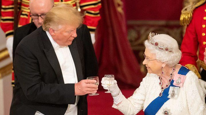 ترامب يغري بريطانيا بصفقة تجارية