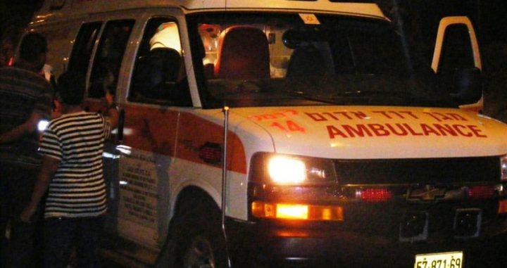 إصابة 12 مواطنا في ثلاثة حوادث سير في جنين