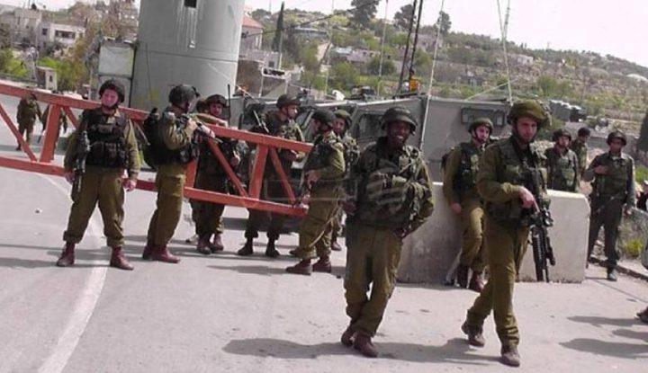 الاحتلال يغلق مدخل قرية بيت اكسا شمال غرب القدس