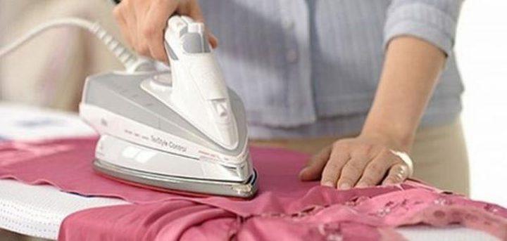 """6 أخطاء عند """"كي الملابس"""""""