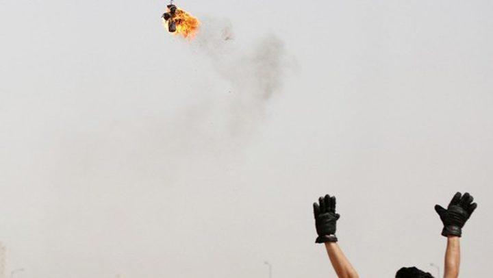 الاحتلال يزعم اطلاق بالونات حارقة من قطاع غزة اليوم