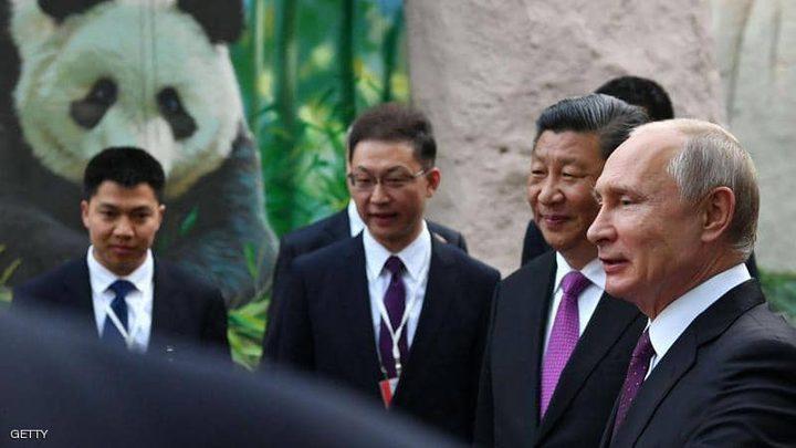 """""""دبلوماسية الباندا"""" ترسم الابتسامة على محيا بوتن"""