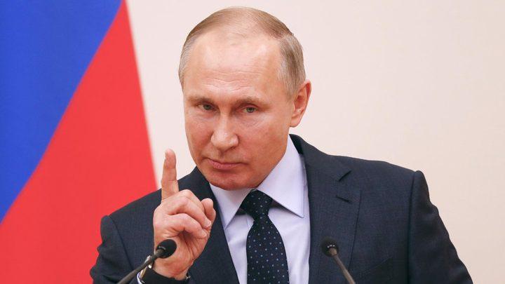 بوتين يحذر من وقوع كارثة عالمية