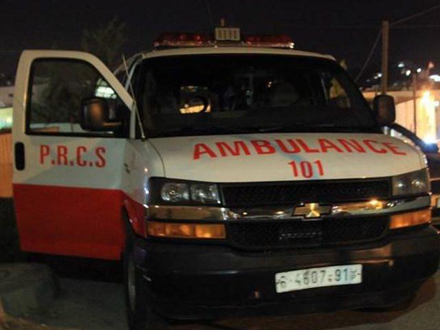مرور غزة: وفاة شاب وإصابة آخر في حادث سير