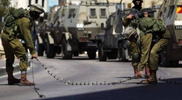 الاحتلال ينصب عدة حواجز في محافظة جنين