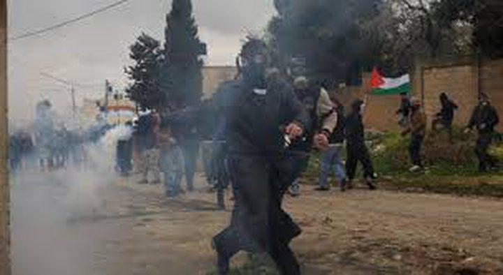 إصابة شاب برصاص الاحتلال في مسيرة كفر قدوم الأسبوعية