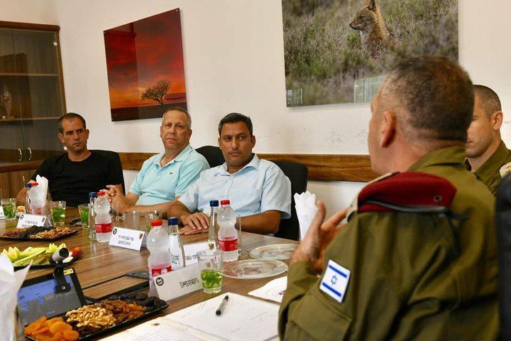 كوخافي يلمح إلى عملية الترتيب السياسي مع حماس في غزة