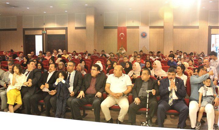 الجالية الفلسطينية في تركيا تحتفل بعيد الفطر السعيد