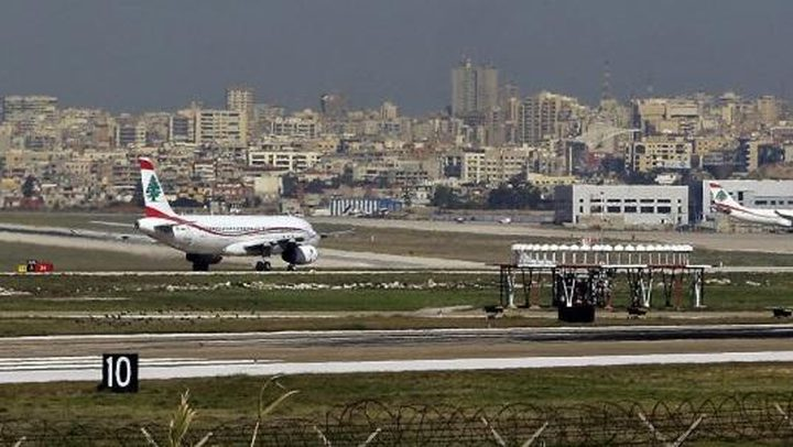 لبنان ينفي هبوط طائرة قادمة من تل أبيب في مطار بيروت