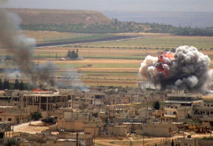 انفجارات كبيرة تهز ريف إدلب