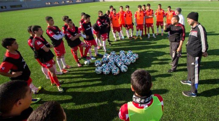 منتخب فلسطين للناشئين بالمجموعة الثانية ببطولة غرب آسيا السابعة