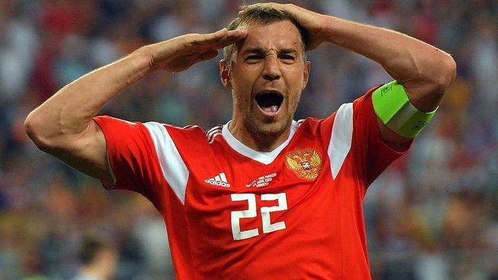 """تصفيات """"يورو 2020"""".. روسيا تمطر شباك سان مارينو بتسعة أهداف نظيفة"""