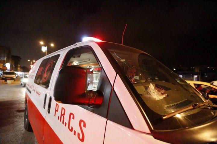 جنين: إصابة مواطنين اثنين في حادث اصطدام مركبة