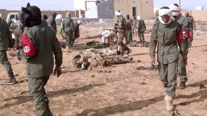 مسلحون يقتلون 95 شخصاً في قرية وسط مالي