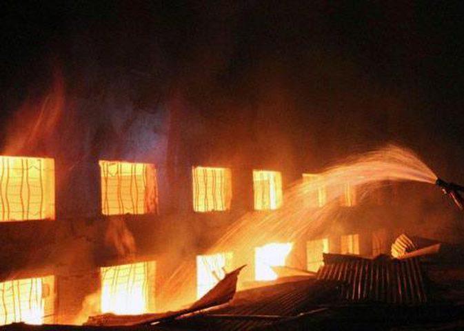 وفاة 6 أشخاص بحريق في مستشفى للأمراض العقلية في أوكرانيا