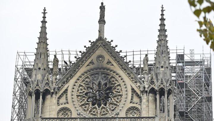 """كاتدرائية """"نوتردام"""" تحتفل لأول مرة بعد الحريق"""