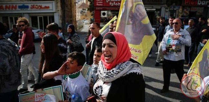 وقفة تضامنية مع الأسرى في سجون الاحتلال بطولكرم
