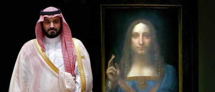 الغارديان: بن سلمان يحتفظ بلوحة المسيح المخلص في يخته الخاص