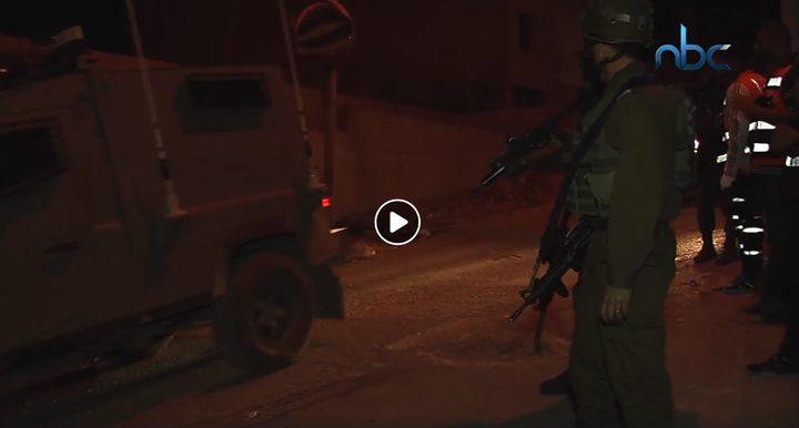 قوات الاحتلال تعتدي على مقر جهاز الأمن الوقائي جنوب نابلس