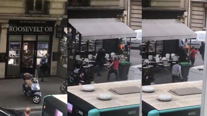 سرقة محل للمجوهرات في باريس بغضون 5 دقائق وفي وضح النهار