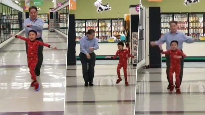 فيديو لرقصة بين جدّ وحفيده يجتاح الانترنت