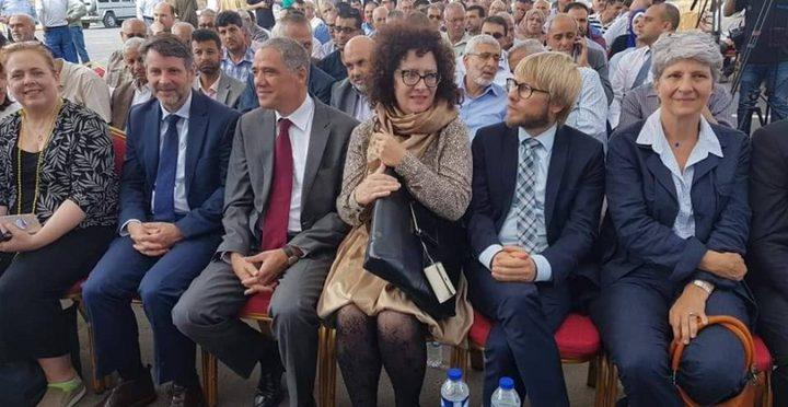 افتتاح أضخم مشروع مكب نفايات في غزة