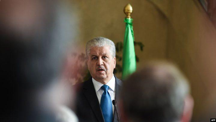 رئيس الحكومة الجزائري الأسبق يودع في السجن الاحتياطي