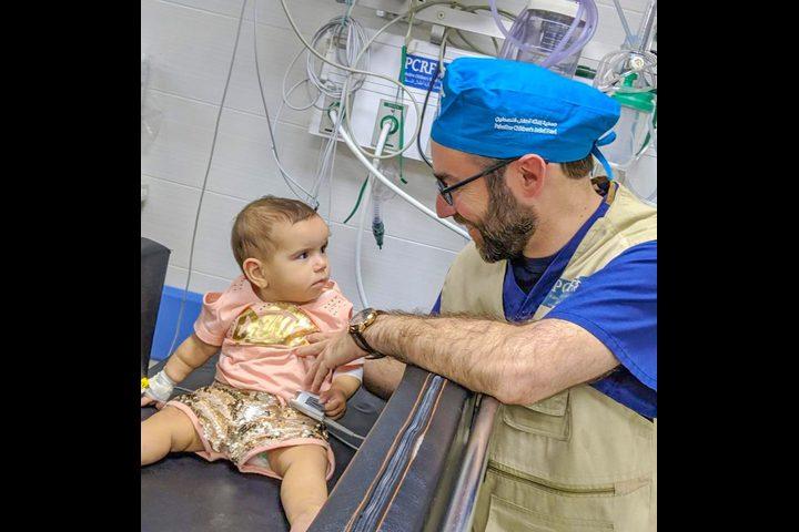 اخراج رصاصه من رأس طفلة رضيعة بمستشفى حكومي