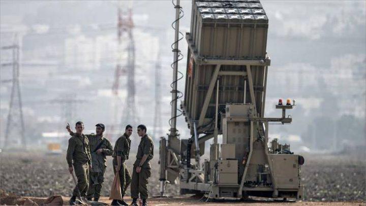 الاحتلال ينشر القبة الحديدية على حدود غزة