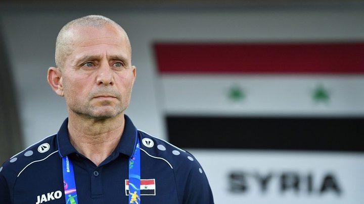 """مدرب منتخب سوريا يعلق على أنباء """"خلاف شارة الكابتن"""""""
