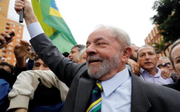 محامون يطالبون بالإفراج عن الرئيس البرازيلي الأسبق لولا دا سيلفا