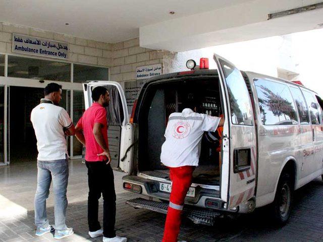 اصابة طفل جراء حادث سير شمال قطاع غزة